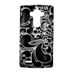 Floral High Contrast Pattern LG G4 Hardshell Case