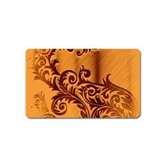 Floral Vintage  Magnet (Name Card)