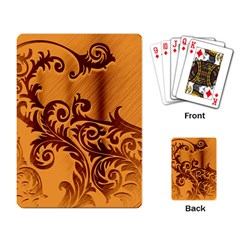 Floral Vintage  Playing Card