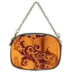 Floral Vintage  Chain Purses (two Sides)
