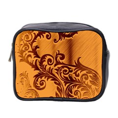 Floral Vintage  Mini Toiletries Bag 2-Side