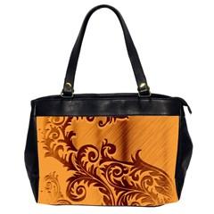 Floral Vintage  Office Handbags (2 Sides)