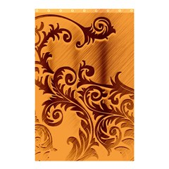 Floral Vintage  Shower Curtain 48  x 72  (Small)