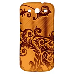 Floral Vintage  Samsung Galaxy S3 S III Classic Hardshell Back Case