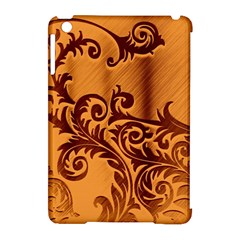 Floral Vintage  Apple iPad Mini Hardshell Case (Compatible with Smart Cover)