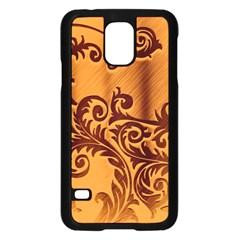 Floral Vintage  Samsung Galaxy S5 Case (Black)