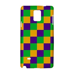 Mardi Gras Checkers Samsung Galaxy Note 4 Hardshell Case