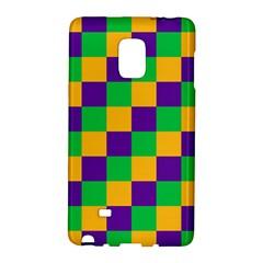 Mardi Gras Checkers Galaxy Note Edge