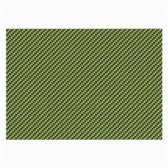 Mardi Gras Checker Boards Large Glasses Cloth