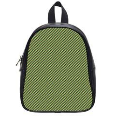 Mardi Gras Checker Boards School Bags (Small)