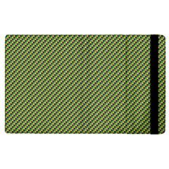 Mardi Gras Checker Boards Apple iPad 2 Flip Case