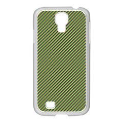 Mardi Gras Checker Boards Samsung GALAXY S4 I9500/ I9505 Case (White)