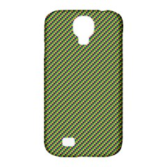 Mardi Gras Checker Boards Samsung Galaxy S4 Classic Hardshell Case (PC+Silicone)