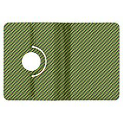 Mardi Gras Checker Boards Kindle Fire HDX Flip 360 Case