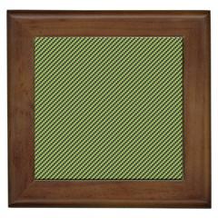 Mardi Gras Checker Boards Framed Tiles
