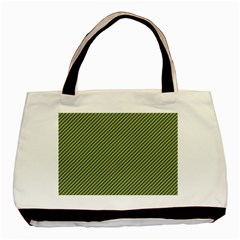 Mardi Gras Checker Boards Basic Tote Bag (Two Sides)