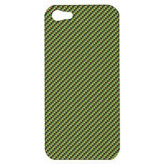 Mardi Gras Checker Boards Apple iPhone 5 Hardshell Case