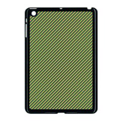 Mardi Gras Checker Boards Apple iPad Mini Case (Black)