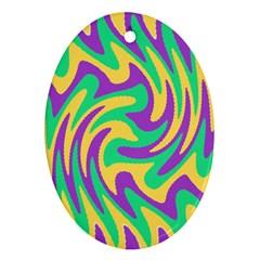 Mardi Gars Ornament (Oval)