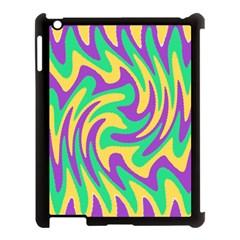 Mardi Gars Apple iPad 3/4 Case (Black)