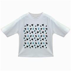 Bird Beans Leaf Black Blue Infant/Toddler T-Shirts