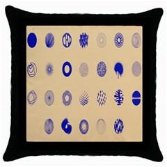 Art Prize Eight Sign Throw Pillow Case (Black)