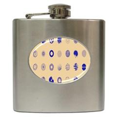Art Prize Eight Sign Hip Flask (6 Oz)
