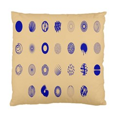 Art Prize Eight Sign Standard Cushion Case (Two Sides)