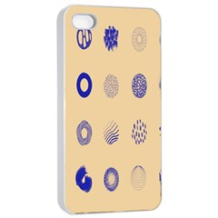 Art Prize Eight Sign Apple iPhone 4/4s Seamless Case (White)
