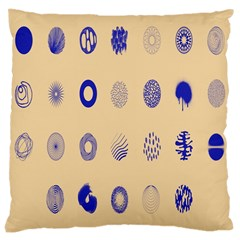 Art Prize Eight Sign Large Cushion Case (One Side)
