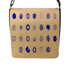 Art Prize Eight Sign Flap Messenger Bag (L)