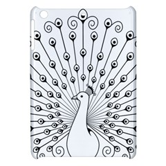 Bird Peacock Fan Animals Apple iPad Mini Hardshell Case