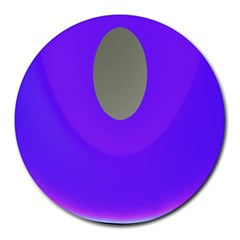Ceiling Color Magenta Blue Lights Gray Green Purple Oculus Main Moon Light Night Wave Round Mousepads