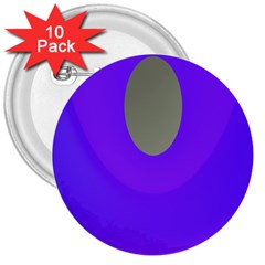 Ceiling Color Magenta Blue Lights Gray Green Purple Oculus Main Moon Light Night Wave 3  Buttons (10 pack)
