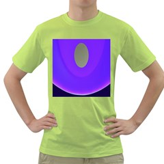 Ceiling Color Magenta Blue Lights Gray Green Purple Oculus Main Moon Light Night Wave Green T-Shirt