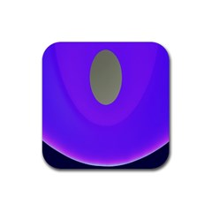 Ceiling Color Magenta Blue Lights Gray Green Purple Oculus Main Moon Light Night Wave Rubber Coaster (Square)