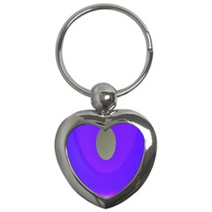 Ceiling Color Magenta Blue Lights Gray Green Purple Oculus Main Moon Light Night Wave Key Chains (Heart)