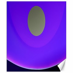 Ceiling Color Magenta Blue Lights Gray Green Purple Oculus Main Moon Light Night Wave Canvas 20  x 24