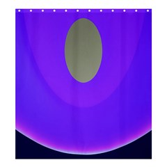 Ceiling Color Magenta Blue Lights Gray Green Purple Oculus Main Moon Light Night Wave Shower Curtain 66  x 72  (Large)
