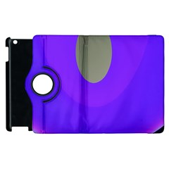 Ceiling Color Magenta Blue Lights Gray Green Purple Oculus Main Moon Light Night Wave Apple iPad 2 Flip 360 Case