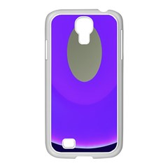 Ceiling Color Magenta Blue Lights Gray Green Purple Oculus Main Moon Light Night Wave Samsung GALAXY S4 I9500/ I9505 Case (White)