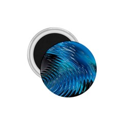 Waves Wave Water Blue Hole Black 1 75  Magnets