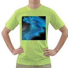 Waves Wave Water Blue Hole Black Green T-Shirt