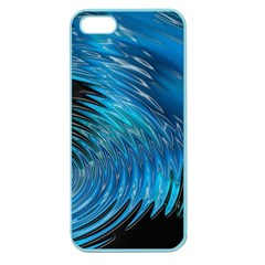 Waves Wave Water Blue Hole Black Apple Seamless iPhone 5 Case (Color)