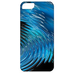 Waves Wave Water Blue Hole Black Apple iPhone 5 Classic Hardshell Case