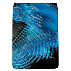 Waves Wave Water Blue Hole Black Flap Covers (L)