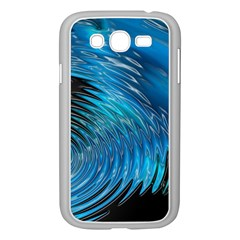Waves Wave Water Blue Hole Black Samsung Galaxy Grand Duos I9082 Case (white)
