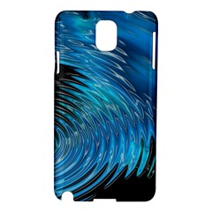 Waves Wave Water Blue Hole Black Samsung Galaxy Note 3 N9005 Hardshell Case