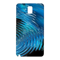 Waves Wave Water Blue Hole Black Samsung Galaxy Note 3 N9005 Hardshell Back Case