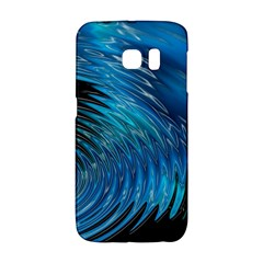 Waves Wave Water Blue Hole Black Galaxy S6 Edge